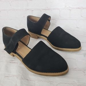 All Black suede black bootie 38